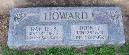 HOWARD, JOHN E. - Craighead County, Arkansas | JOHN E. HOWARD - Arkansas Gravestone Photos