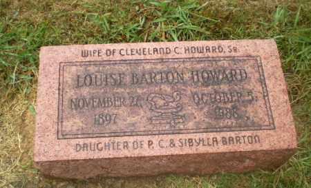 BARTON HOWARD, LOUISE - Craighead County, Arkansas | LOUISE BARTON HOWARD - Arkansas Gravestone Photos