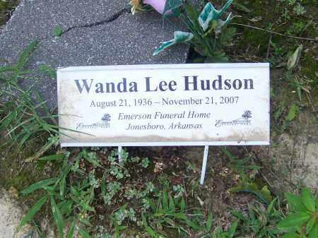 HUDSON, WANDA LEE - Craighead County, Arkansas | WANDA LEE HUDSON - Arkansas Gravestone Photos