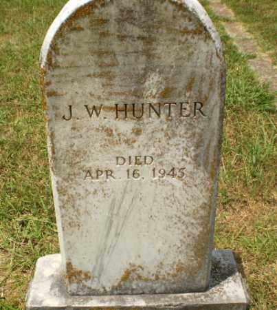 HUNTER, J.W. - Craighead County, Arkansas | J.W. HUNTER - Arkansas Gravestone Photos