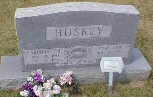 "HUSKEY, THOMAS ""T.J."" - Craighead County, Arkansas | THOMAS ""T.J."" HUSKEY - Arkansas Gravestone Photos"
