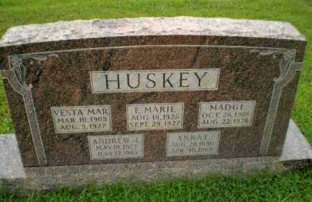 HUSKEY, E.MARIE - Craighead County, Arkansas | E.MARIE HUSKEY - Arkansas Gravestone Photos