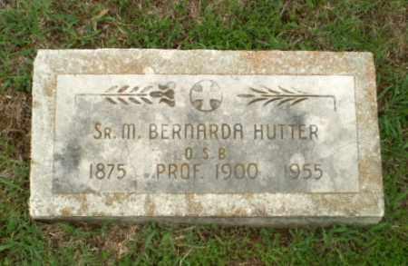 HUTTER, SISTER M. BERNARDA - Craighead County, Arkansas | SISTER M. BERNARDA HUTTER - Arkansas Gravestone Photos