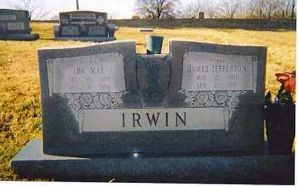 IRWIN, JAMES JEFFERSON - Craighead County, Arkansas | JAMES JEFFERSON IRWIN - Arkansas Gravestone Photos