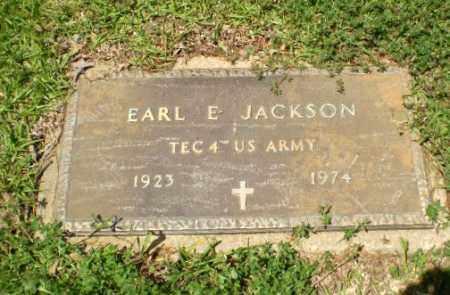 JACKSON  (VETERAN), EARL E. - Craighead County, Arkansas   EARL E. JACKSON  (VETERAN) - Arkansas Gravestone Photos