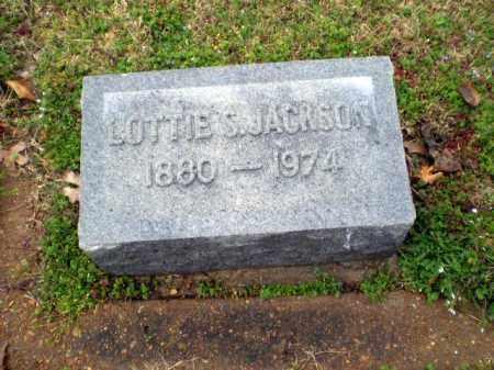 JACKSON, LOTTIE S - Craighead County, Arkansas   LOTTIE S JACKSON - Arkansas Gravestone Photos