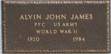 JAMES  (VETERAN WWII), ALVIN JOHN - Craighead County, Arkansas | ALVIN JOHN JAMES  (VETERAN WWII) - Arkansas Gravestone Photos
