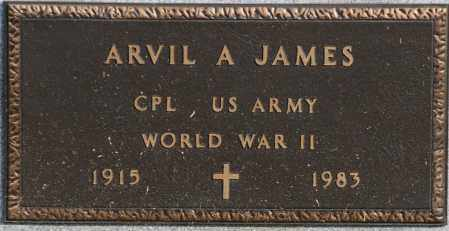 JAMES  (VETERAN WWII), ARVIL A - Craighead County, Arkansas | ARVIL A JAMES  (VETERAN WWII) - Arkansas Gravestone Photos