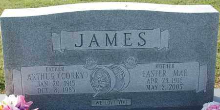 JAMES, ARTHUR (CORKY) - Craighead County, Arkansas | ARTHUR (CORKY) JAMES - Arkansas Gravestone Photos