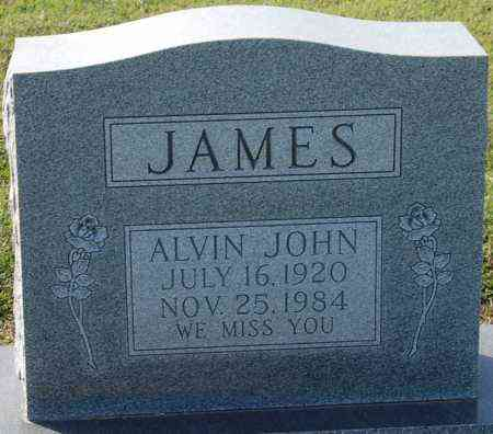 JAMES, ALVIN JOHN - Craighead County, Arkansas | ALVIN JOHN JAMES - Arkansas Gravestone Photos