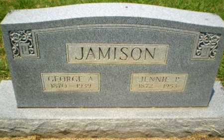 JAMISON, JENNIE P - Craighead County, Arkansas | JENNIE P JAMISON - Arkansas Gravestone Photos
