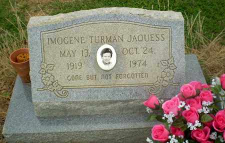 TURMAN JAQUESS, IMOGENE - Craighead County, Arkansas | IMOGENE TURMAN JAQUESS - Arkansas Gravestone Photos