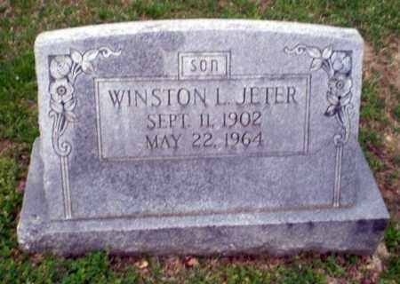 JETER, WINSTON L - Craighead County, Arkansas | WINSTON L JETER - Arkansas Gravestone Photos