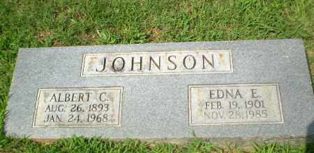 JOHNSON, ALBERT C - Craighead County, Arkansas | ALBERT C JOHNSON - Arkansas Gravestone Photos