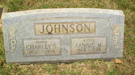 JOHNSON, FANNIE M - Craighead County, Arkansas | FANNIE M JOHNSON - Arkansas Gravestone Photos