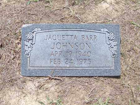 JOHNSON, JAQUETTA BARR - Craighead County, Arkansas   JAQUETTA BARR JOHNSON - Arkansas Gravestone Photos