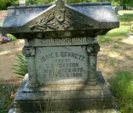 BENNETT JOHNSON, JOSIE E - Craighead County, Arkansas   JOSIE E BENNETT JOHNSON - Arkansas Gravestone Photos