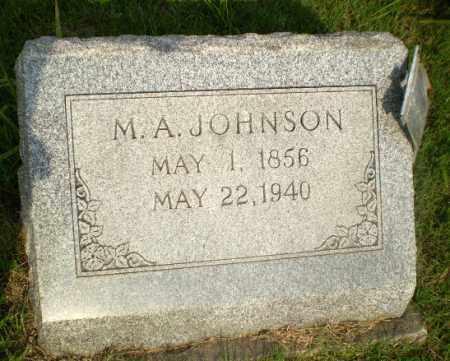 JOHNSON, M.A. - Craighead County, Arkansas | M.A. JOHNSON - Arkansas Gravestone Photos