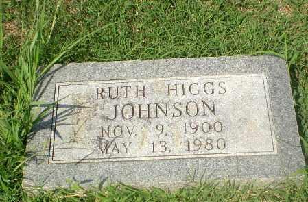 HIGGS JOHNSON, RUTH - Craighead County, Arkansas | RUTH HIGGS JOHNSON - Arkansas Gravestone Photos
