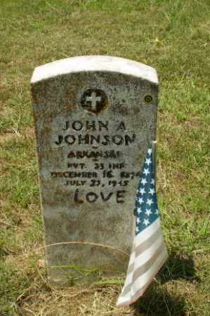 JOHNSON (VETERAN), JOHN A - Craighead County, Arkansas | JOHN A JOHNSON (VETERAN) - Arkansas Gravestone Photos