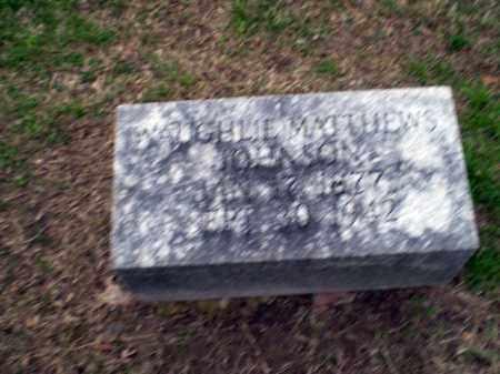 MATTHEWS JOHNSON, WAUGHLIE - Craighead County, Arkansas | WAUGHLIE MATTHEWS JOHNSON - Arkansas Gravestone Photos