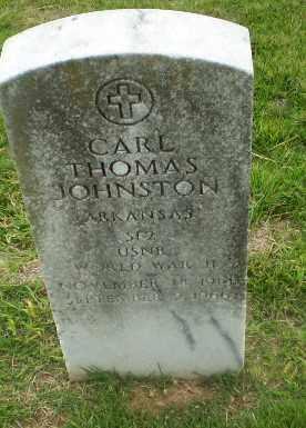 JOHNSTON  (VETERAN WWII), CARL THOMAS - Craighead County, Arkansas | CARL THOMAS JOHNSTON  (VETERAN WWII) - Arkansas Gravestone Photos