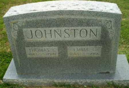JOHNSTON, THOMAS E - Craighead County, Arkansas | THOMAS E JOHNSTON - Arkansas Gravestone Photos