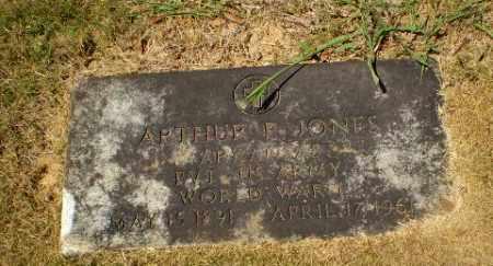 JONES  (VETERAN WWI), ARTHUR P - Craighead County, Arkansas   ARTHUR P JONES  (VETERAN WWI) - Arkansas Gravestone Photos