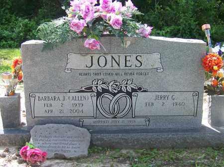 ALLEN JONES, BARBARA J. - Craighead County, Arkansas | BARBARA J. ALLEN JONES - Arkansas Gravestone Photos