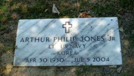 JONES, JR  (VETERAN KOR), ARTHUR PHILIP - Craighead County, Arkansas | ARTHUR PHILIP JONES, JR  (VETERAN KOR) - Arkansas Gravestone Photos