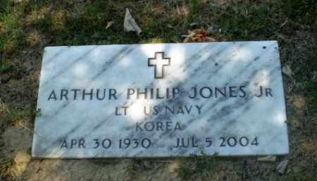 JONES, JR  (VETERAN KOR), ARTHUR PHILIP - Craighead County, Arkansas | ARTHUR PHILIP JONES, JR  (VETERAN KOR) - Arkansas Gravestone Photos