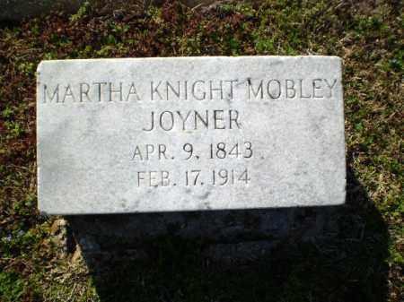 JOYNER, MARTHA  KNIGHT - Craighead County, Arkansas | MARTHA  KNIGHT JOYNER - Arkansas Gravestone Photos