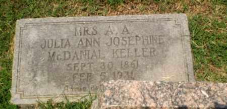 KELLER, JULIA ANN JOSEPHINE - Craighead County, Arkansas | JULIA ANN JOSEPHINE KELLER - Arkansas Gravestone Photos