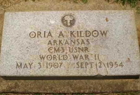 KILDOW (VETERAN WWII), ORIA A - Craighead County, Arkansas   ORIA A KILDOW (VETERAN WWII) - Arkansas Gravestone Photos