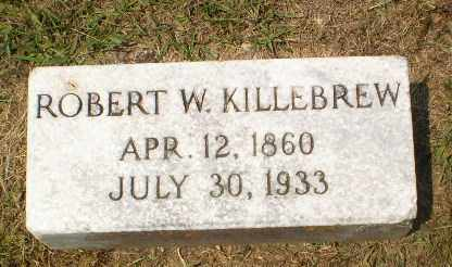 KILLEBREW, ROBERT W. - Craighead County, Arkansas   ROBERT W. KILLEBREW - Arkansas Gravestone Photos