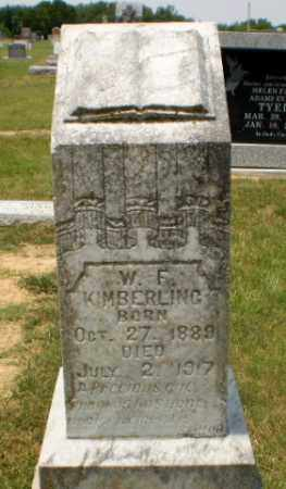 KIMBERLING, W.F. - Craighead County, Arkansas | W.F. KIMBERLING - Arkansas Gravestone Photos