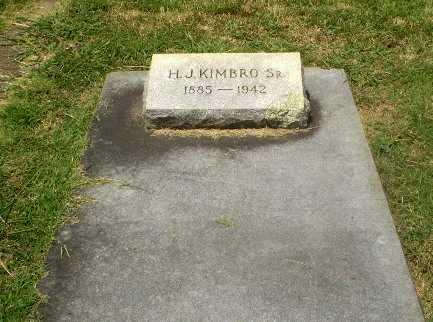 KIMBRO, SR, H.J. - Craighead County, Arkansas | H.J. KIMBRO, SR - Arkansas Gravestone Photos