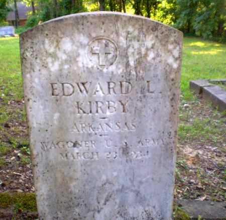 KIRBY  (VETERAN), EDWARD L - Craighead County, Arkansas | EDWARD L KIRBY  (VETERAN) - Arkansas Gravestone Photos