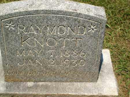 KNOTT, RAYMOND - Craighead County, Arkansas | RAYMOND KNOTT - Arkansas Gravestone Photos