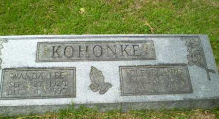KOHONKE, CLEVELAND - Craighead County, Arkansas   CLEVELAND KOHONKE - Arkansas Gravestone Photos