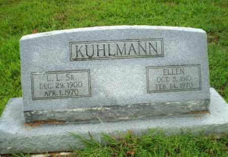 KUHLMANN, SR, L.L. - Craighead County, Arkansas   L.L. KUHLMANN, SR - Arkansas Gravestone Photos