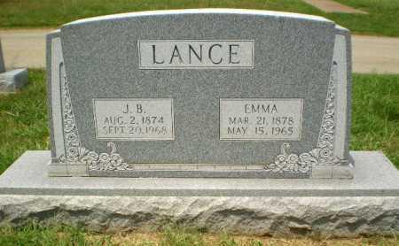 LANCE, J.B. - Craighead County, Arkansas | J.B. LANCE - Arkansas Gravestone Photos