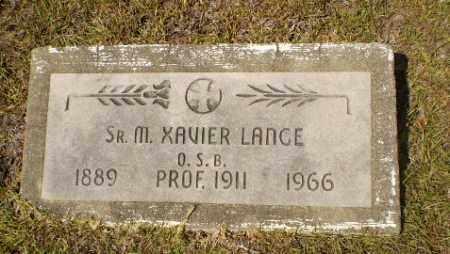 LANCE, SISTER M. XAVIER - Craighead County, Arkansas   SISTER M. XAVIER LANCE - Arkansas Gravestone Photos