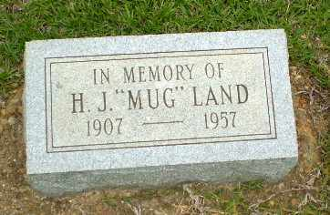 """LAND, H.J. """"MUG"""" - Craighead County, Arkansas   H.J. """"MUG"""" LAND - Arkansas Gravestone Photos"""