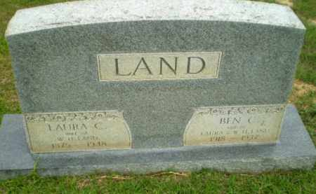 LAND, BEN C - Craighead County, Arkansas | BEN C LAND - Arkansas Gravestone Photos