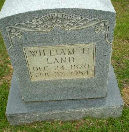 LAND, WILLIAM H - Craighead County, Arkansas | WILLIAM H LAND - Arkansas Gravestone Photos