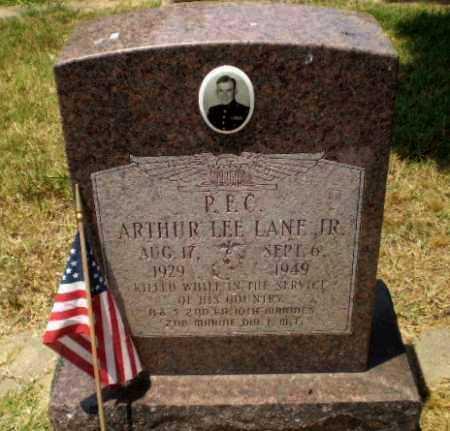 LANE  (VETERAN), ARTHUR LEE - Craighead County, Arkansas   ARTHUR LEE LANE  (VETERAN) - Arkansas Gravestone Photos