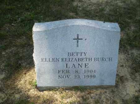 LANE, BETTY ELLEN ELIZABETH - Craighead County, Arkansas | BETTY ELLEN ELIZABETH LANE - Arkansas Gravestone Photos
