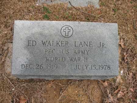 LANE, JR. (VETERAN WWII), ED WALKER - Craighead County, Arkansas | ED WALKER LANE, JR. (VETERAN WWII) - Arkansas Gravestone Photos