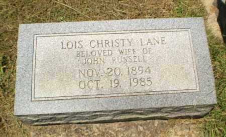 LANE, LOIS - Craighead County, Arkansas | LOIS LANE - Arkansas Gravestone Photos
